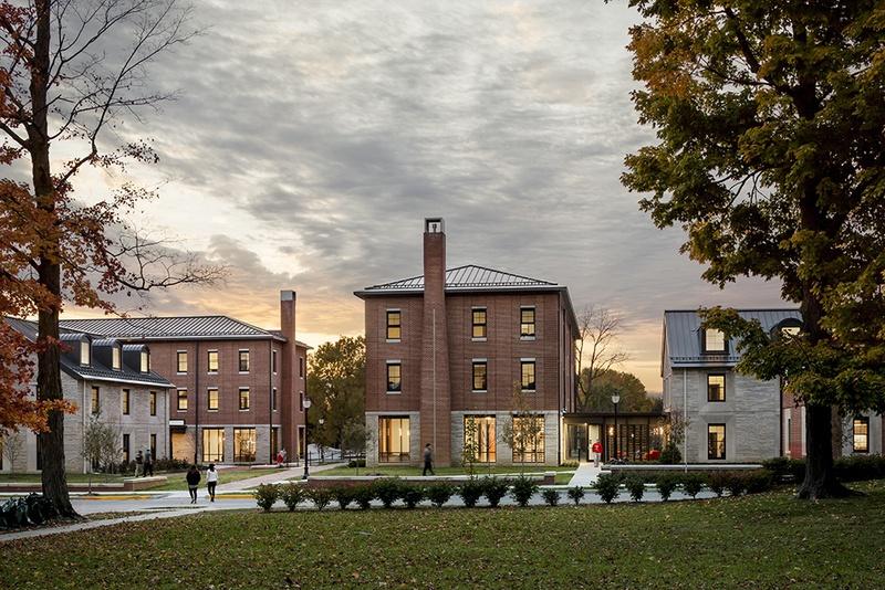 Wabash College Campus Map.Wabash College Virtual Tour